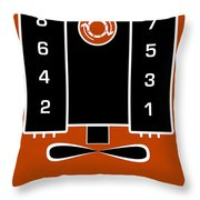 Chevrolet Firing Order Throw Pillow