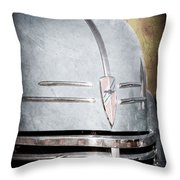 Chevrolet Hood Emblem - Grille Emblem Throw Pillow