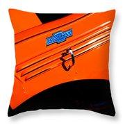 Chevrolet Hood Throw Pillow