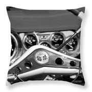 Chevrolet Impala Steering Wheel Throw Pillow
