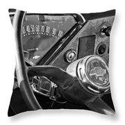 Chevrolet Steering Wheel Emblem Throw Pillow