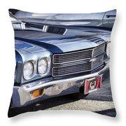 Chevy Malibu Throw Pillow