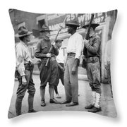 Chicago Race Riot, 1919 Throw Pillow