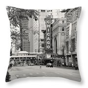 Chicago Theatre - French Baroque Out Of A Movie Throw Pillow