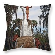 Chief Tomokie  Throw Pillow