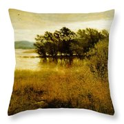 Chill October Throw Pillow