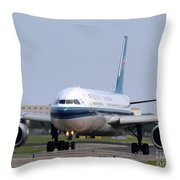 China Southern Airlines Airbus A330 Throw Pillow