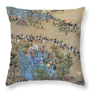 China Taiping Rebellion Throw Pillow