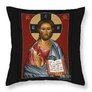 Christ All Merciful 022 Throw Pillow