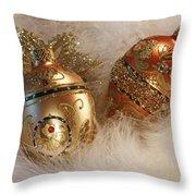 Christmas Past Throw Pillow