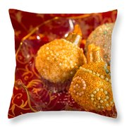 Christmasball Cupcakes Throw Pillow