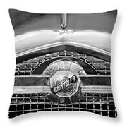 Chrysler Grille Emblem Throw Pillow
