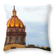 Church Of San Rafael Throw Pillow