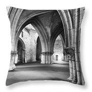 Church Of The Sao Francisco Convent Throw Pillow