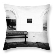 Churchill Downs Throw Pillow by Tanya Harrison