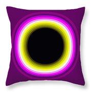 Circle Motif 143 Throw Pillow