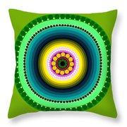 Circle Motif 225 Throw Pillow