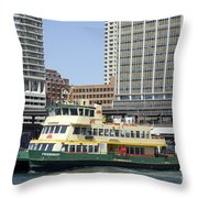 Circular Quay Throw Pillow