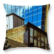 City Center-18 Throw Pillow