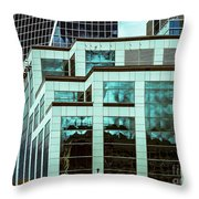 City Center -85 Throw Pillow