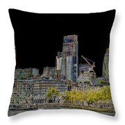City Of London Art Throw Pillow