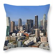City Of Los Angeles Throw Pillow