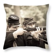 Civil War 5 Throw Pillow