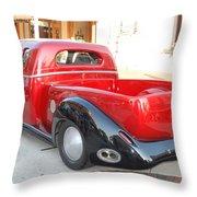 Classic Custom Pickup Truck Throw Pillow