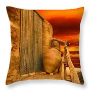 Clay Pot Throw Pillow