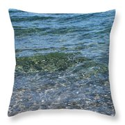 Clear Waters 3 Throw Pillow