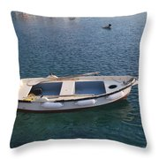 Clear Waters 1 Throw Pillow
