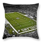 Cleveland Browns Stadium Throw Pillow