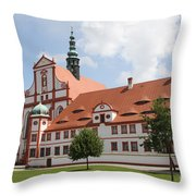Cloister  St. Marienstern Throw Pillow