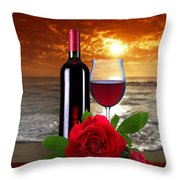 Closing Time Throw Pillow by Manfred Lutzius