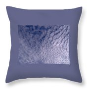 Lots Of Clouds Throw Pillow