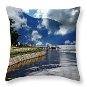Clouds In Bali Throw Pillow