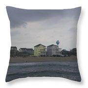Clouds Over Rodanthe 3 Throw Pillow