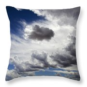Cloudscape 1 Throw Pillow