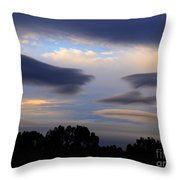 Cloudy Day 2 Throw Pillow