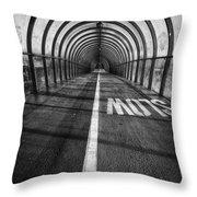 Clydeside Walkway Throw Pillow