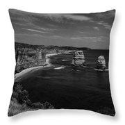 Coast 9 Throw Pillow