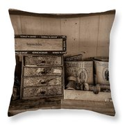 Cobblers Tobacco Throw Pillow