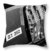 Cobra Gt 350 Taillight Emblem Throw Pillow
