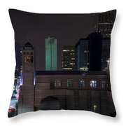 Cocathedral Of The Sacred Heart  Throw Pillow