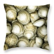 Cockle Dream Throw Pillow