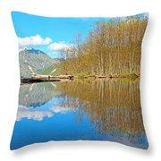 Coldwater Lake Throw Pillow