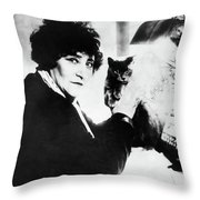 Colette (1873-1954) Throw Pillow