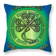 Collins Ireland To America Throw Pillow