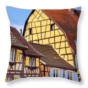 Colmar - Alsace Throw Pillow