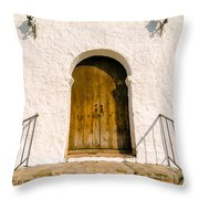 Colonial Door Throw Pillow